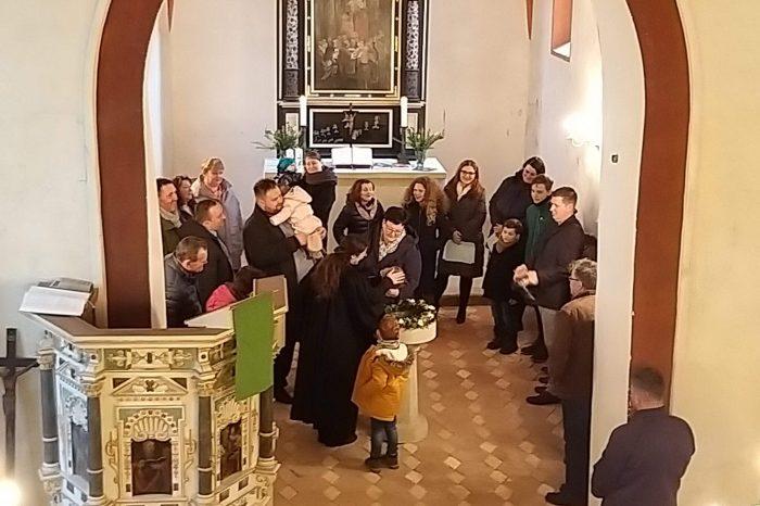Taufen in Auligk und Groitzsch