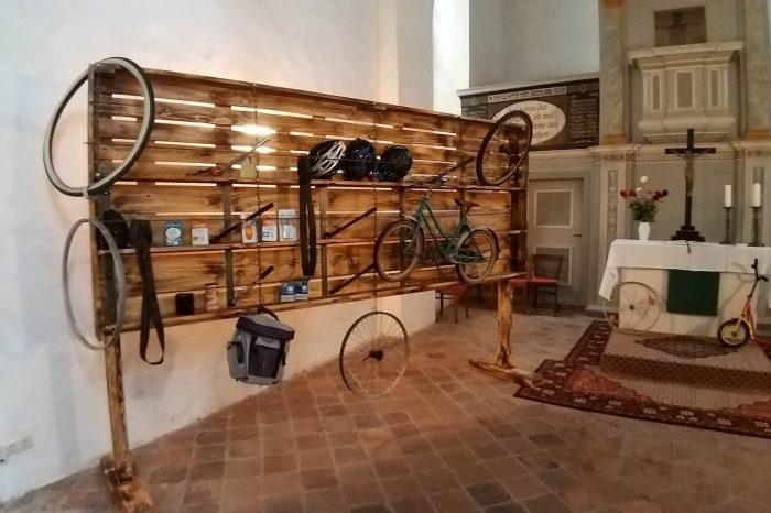Fahrradgottesdienst in Pödelwitz