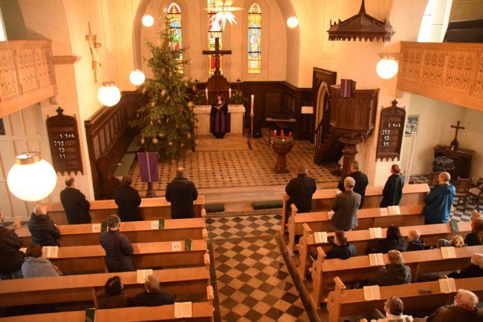 1. Advent mit Einsegnung des neuen KVs
